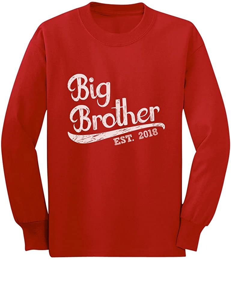 TeeStars - Gift for Big Brother 2018 Toddler/Kids Long Sleeve T-Shirt GtPhtMagC5