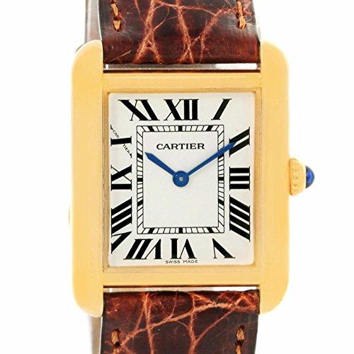 Cartier Tank Solo quartz womens Watch W1018755 (Certified Pre-owned)