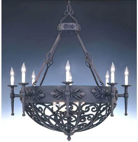 Designers Fountain 9189-NI Alhambra 14 Light Chandelier