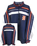 Majestic Detroit Tigers MLB Warrior Track Jacket Navy Blue Mens Big & Tall Sizes