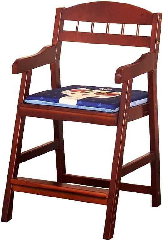 Nevy- Taburete de Madera Maciza Escalón Infantil Escalera Infantil Silla de Aprendizaje Silla de salón Ajustable: Amazon.es: Hogar