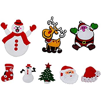 Amazon Com Christmas Decoration Animated Tree Magnet Set