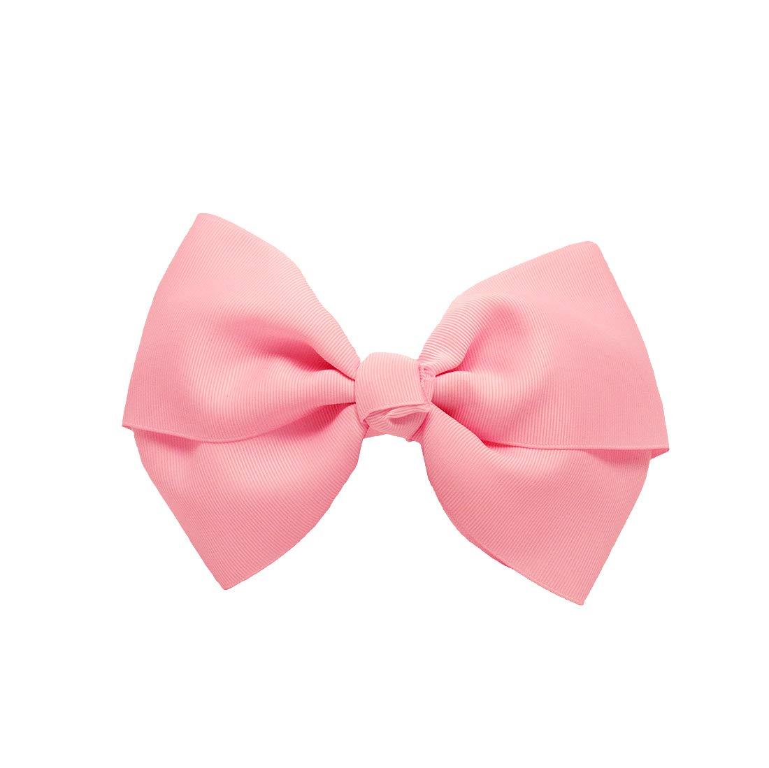 Hair Accessories Mia Girl Hair Clips Hair Barrettes w// Sequins Bows Hot Pink