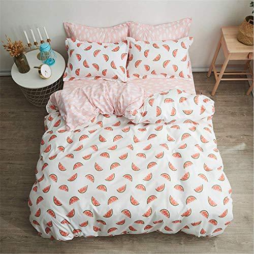 SSHHJ Bedding Set Duvet Cover Set Flowers Bed Set Bedclothes Brief Duvet Cover Pillowcase E 220x240cm ()
