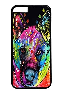 akita PC Case Cover for iPhone 6 and iphone 6 4.7 inch Black