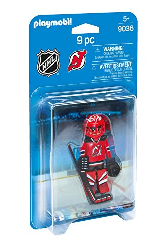 PLAYMOBIL NHL New Jersey Devils Goalie