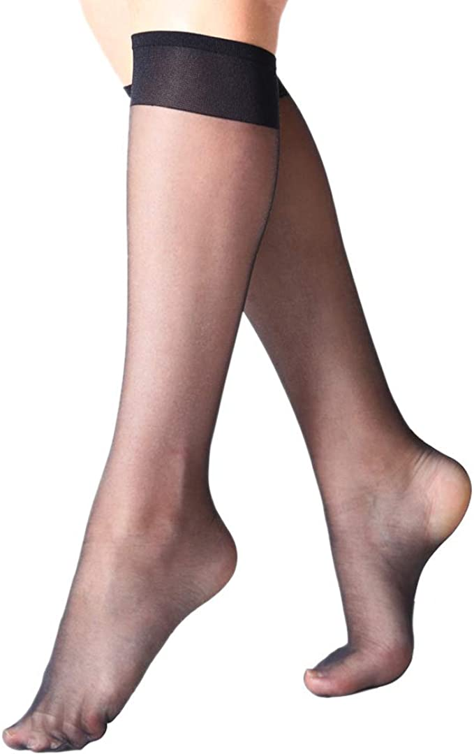 L//XL Leg/'s Gift New 100/% Silk Stockings Nude Stockings Transparent Manzi