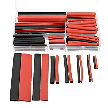 150Pcs 8 Size Heat Shrink Tube Sleeve Wire Kit with Box for RC DIY Model Tool for RC Drones FPV Quadcopter Helicopter Aircraft 1