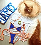 ウイッグ追加可 衣装+耳 +尻尾+ 腕輪+帽子 FGO タマモキャット玉藻の前 風 水着 Fate/Grand Order コスプレ衣装 ユニフォーム 舞台演出服 ハロウィン イベント 学園祭 クリスマス仮装 cosplay (衣装のみ, フリーサイズ)