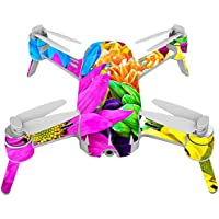 Skin For Yuneec Breeze 4K Drone – Colorful Flowers | MightySkins Protective, Durable, and Unique Vinyl Decal wrap cover | Easy To Apply, Remove, and Change Styles | Made in the USA