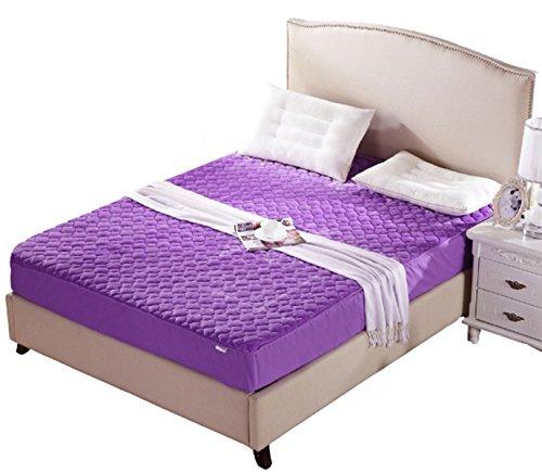 Alaska2You Contour 8 Inch Mattress Protector, Mattress Queen, Purple by Alaska2You