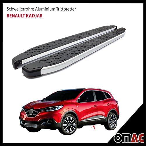 Schwellerrohre Aluminium Trittbretter Für Für Kadjar Ab 2015 Blackline 173 Auto