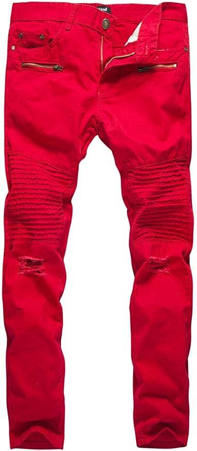 Cinnamou Pantalones Apretados Para Hombre Pantalones Baqueros Ajustados Hombre Pantalones De Running Hombre Pantalones Tubo Hombre Pantalones Tobilleros Hombre Pantalones Largos Hombre Vestir Amazon Es Ropa Y Accesorios