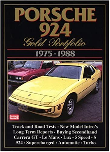 Porsche 924: Gold Portfolio 1975-1988: R.M Clarke: 9781870642804: Amazon.com: Books