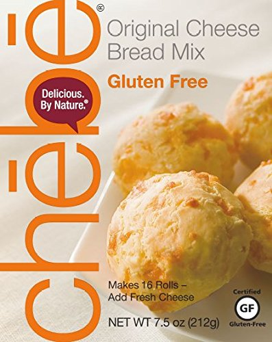 Jack Pizza - Chebe Bread Original Cheese Bread Mix, Gluten Free, 7.5-Ounce Bags (Pack of 8)