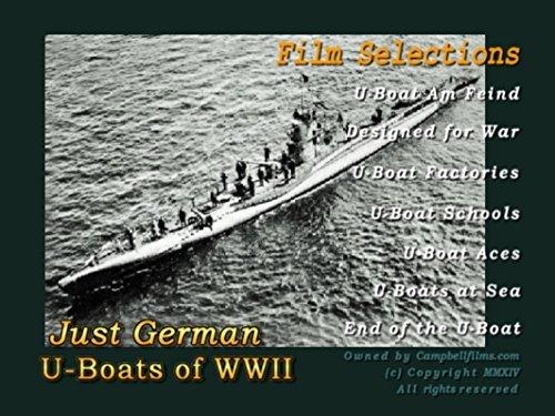 German Nazi U-Boat Films of WW2 Atlantic War Convoys old Films DVD by U-Boote by