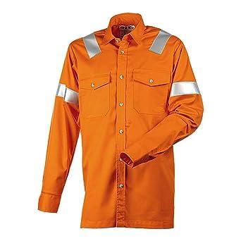 J.A.K. 2107124142 Serie 12021 99% algodón/1% Negastat Camisa, Naranja, L Tamaño: Amazon.es: Industria, empresas y ciencia