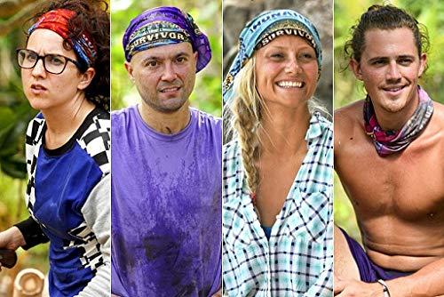 Buff CBS Survivor Headwear-Season 38-Edge of Extinction Lesu Tribe-Green by Buff (Image #3)