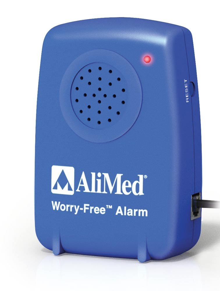 AliMed Worry-Free Fall Alarm with 2 Year Thin Bed Sensor Pad