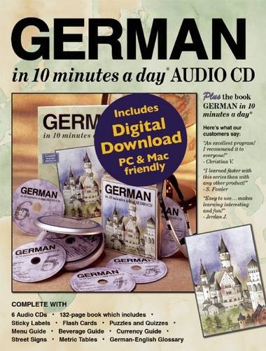 GERMAN in 10 minutes a day® AUDIO CD by Brand: Bilingual Books, Inc.