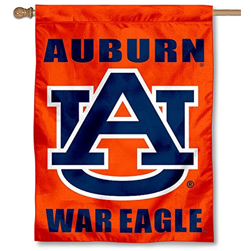 nners Co. Auburn University War Eagle Double Sided House Flag ()