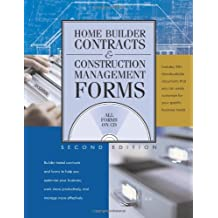 Home Builder Contracts & Construction Management Forms [With CDROM]