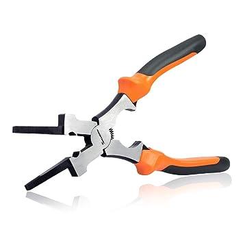 "8/"" MIG WELDING SPRING-LOADED PLIERS Multi-Purpose Tools Comfort Grip"