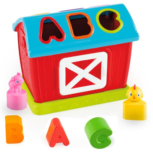 [Bright Starts Barnyard Fun Shape Sorter] (Animals That Starts With Letter E)