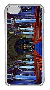 iPhone 5C Case, Personalized Custom St Joseph Church for iPhone 5C PC Clear Case