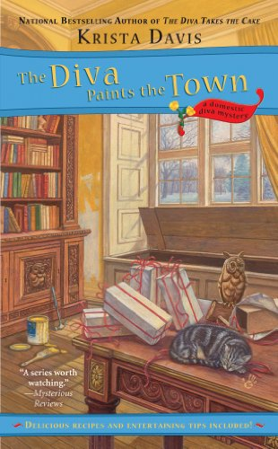 The Diva Paints the Town (A Domestic Diva Mystery Book 3)