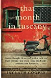 Book cover from That Month in Tuscany by Inglath Cooper