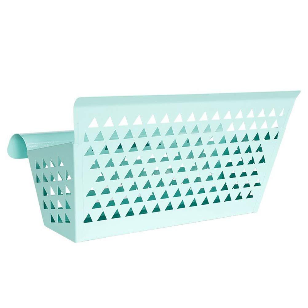 OUNONA cesto sospeso da comodino dormitorio cestino bagno cucina cestello portaoggetti (blu)