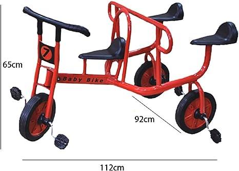 CNMMGL Bicicleta de Tres Ruedas para niños Bicicleta para Tres ...