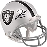 Derek Carr Oakland Raiders Autographed Riddell Mini Helmet - Fanatics Authentic Certified - Autographed NFL Mini Helmets