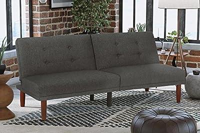 DHP Bexley Linen Futon, Grey