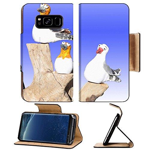 Luxlady Premium Samsung Galaxy S8 Plus S8  Flip Pu Leather Wallet Case Image Id 1675357 Four China Model Birds On A Log