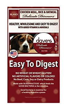 Dave s Pet Food Chicken Rice and Oatmeal Bag