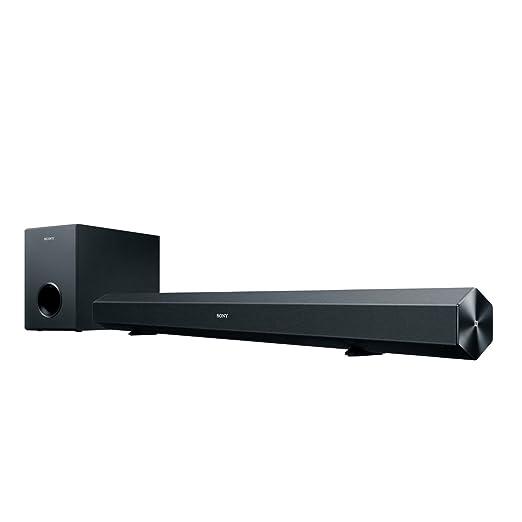 61 opinioni per Sony HT-CT60 Soundbar 2.1 Canali, Potenza 60W, NFC, Bluetooth, Nero