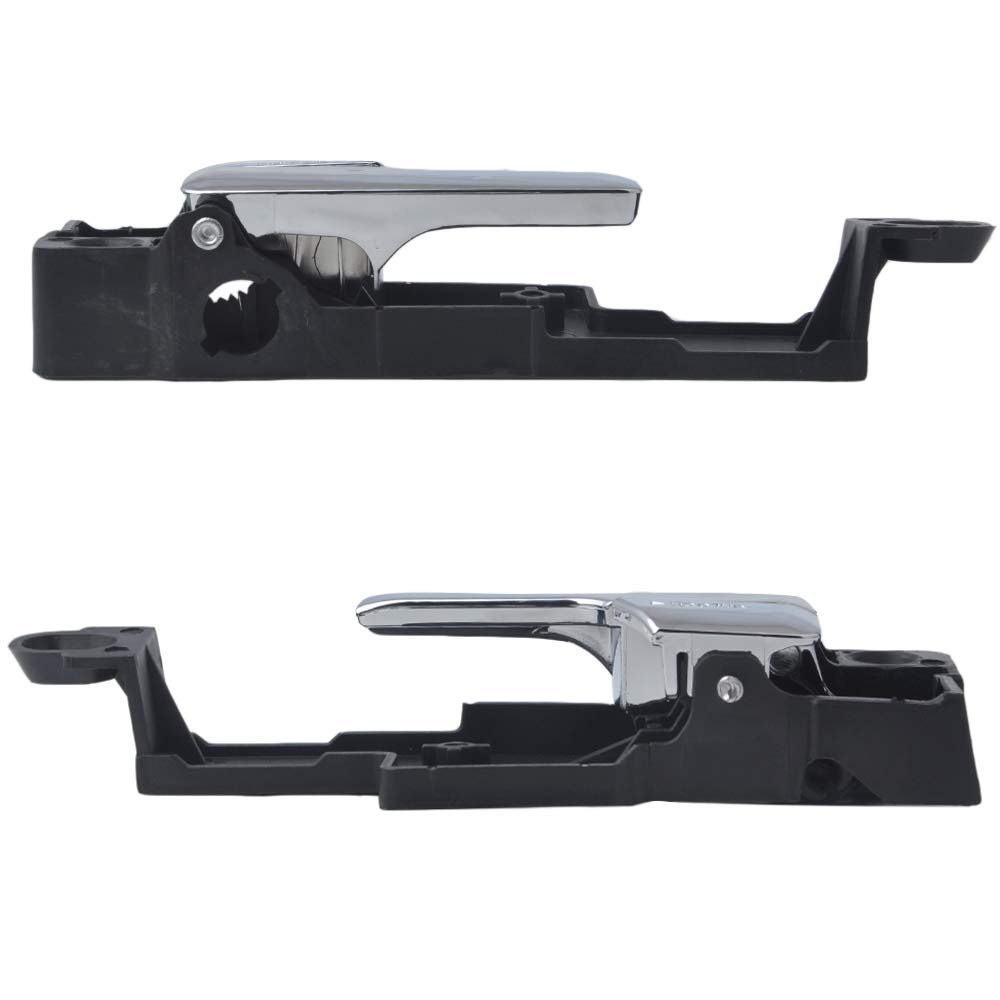 6E5Z5422601A 6E5Z5422600AA Issyzone 1 Pair Interior Door Handle for Ford Fusion Front Driver /& Passenger Side Lincoln MKZ Zephyr Mercury Milan Door Handle