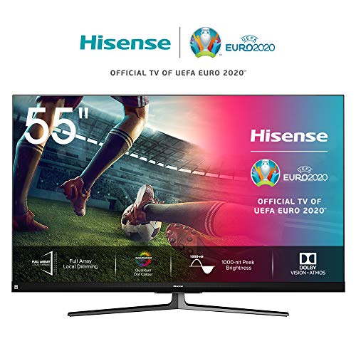 🥇 Hisense ULED 2020 55U8QF – Smart TV 55″ Resolución 4K