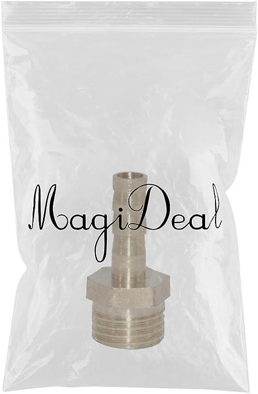 MagiDeal 1//2 Laiton Barbel/é Tuyau Carburant Pagoda Raccord Coupleur Connecteur 6mm