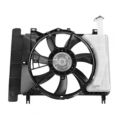 Radiator Cooling Fan w/Overflow Bottle for 06-12 Toyota Yaris