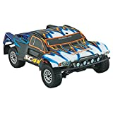 Dromida 1:18 Scale RTR Remote Control RC Car: SC4.18BL Brushless Electric 4WD SC Short Course Truck with 2.4GHz Radio, 7.2V 6C 1300mAh NiMH Rechargeable Battery, 4 x AA Batteries and Charger