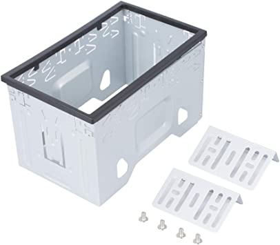 LSLYA - Kit de Montaje Universal de Doble DIN para 2 Dash Kit de Radio estéreo de Coche y DVD: Amazon.es ...