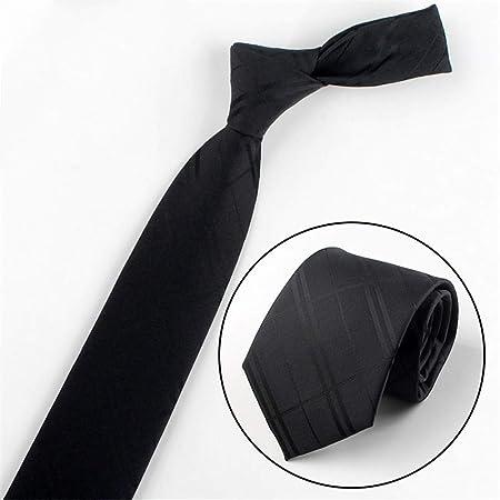 xqzs Vestido de Negocios con Corbata para Hombres, 8 cm de Ancho ...
