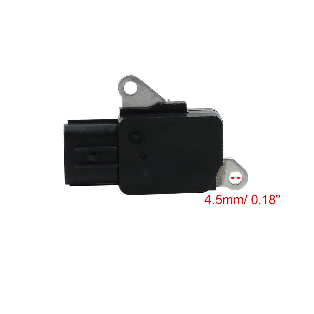 X AUTOHAUX Car 5 Pins Mass Air Flow Meter Sensor 22204-22010 DC 12V for Toyota Corolla 2003-2008
