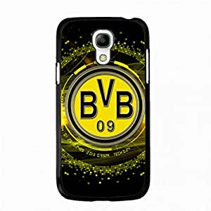 Protective Phone Case,Samsung Galaxy S4 mini Custom Bumper Phone Case,The BVB 09 TPU Borussia Dortmund FC Football Club Phone Case Cover