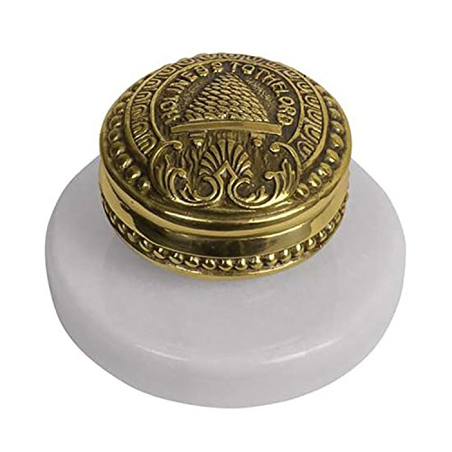 C10 - Salt Lake Temple Doorknob w/Marble Base