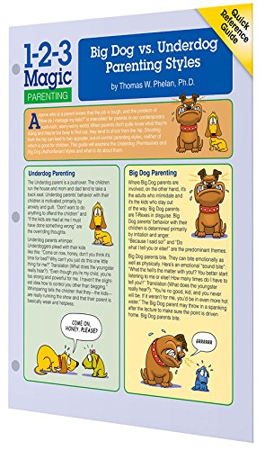 Big Dog vs. Underdog Parenting Styles (Quick Reference Guides)