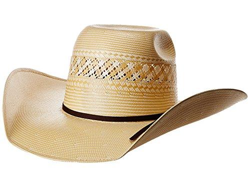 Twister Men's Ivory 20X Shantung Punchy Hat Ivory 7 1/8